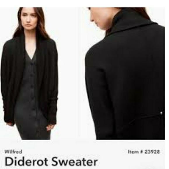 Aritzia wilfred diderot sweater XS